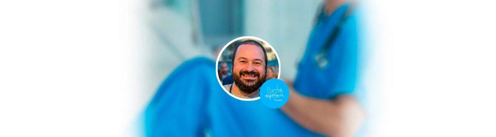 Conoce a Fernando Campaña, director de Nuestra Enfermería Fanzine