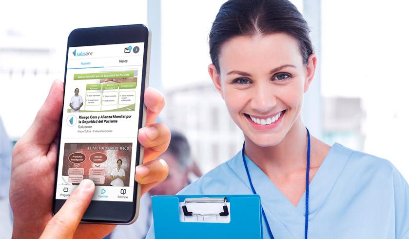 Realiza un curso de enfermería online al mes por 10€ con SalusOne Enfermería