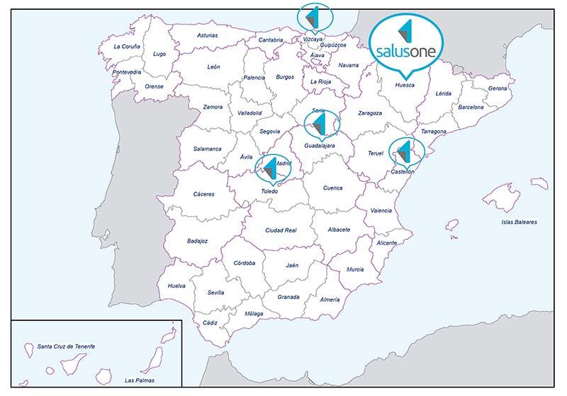 El martes 1 de octubre a las 17.00 h se realizará la presentación de SalusOne en la sede del Colegio de Enfermería de Huesca.