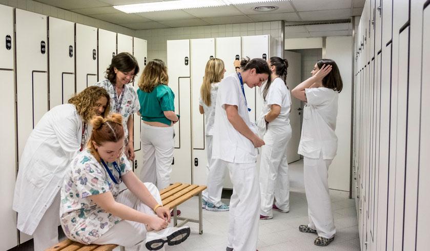Enfermeras líderes en función de la relación con los miembros de su equipo