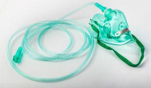 Mascarillas de oxígeno y gafas nasales