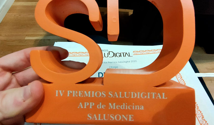 SalusOne mejor App de Medicina en los IV Premios SaluDigital