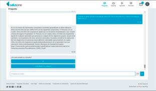 La App de enfermería, SalusOne, responde gratuitamente las preguntas sobre Covid-19 por Coronaviursde de los profesionales sanitarios.