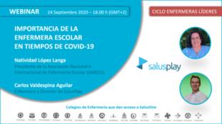 Importancia de la Enfermera Escolar en Tiempos de COVID-19